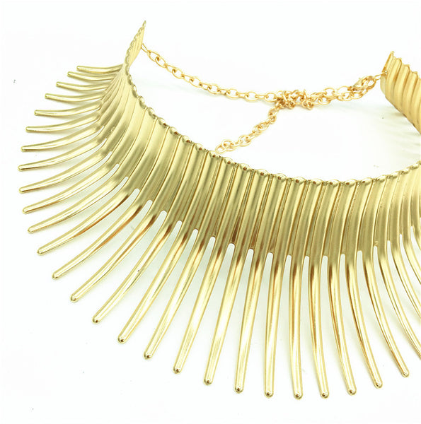Thorn Statement Necklace - 786shop4you