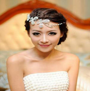 Bridal Butterfly Tiara