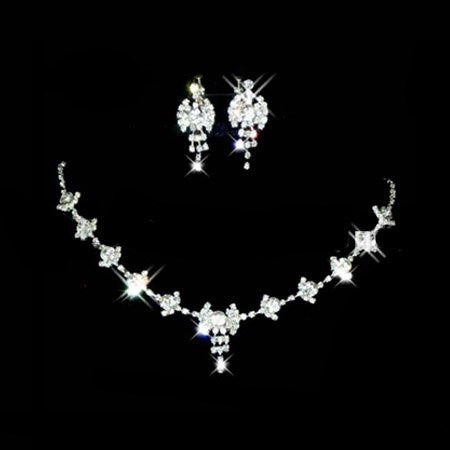 Fairy Stars Crystal Necklace Set