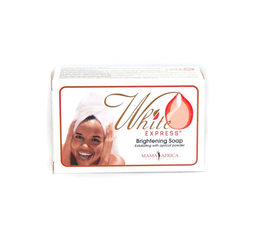 WHITE EXPRESS BRIGHTENING SOAP BY MAMA AFRICA 200g - 786shop4you