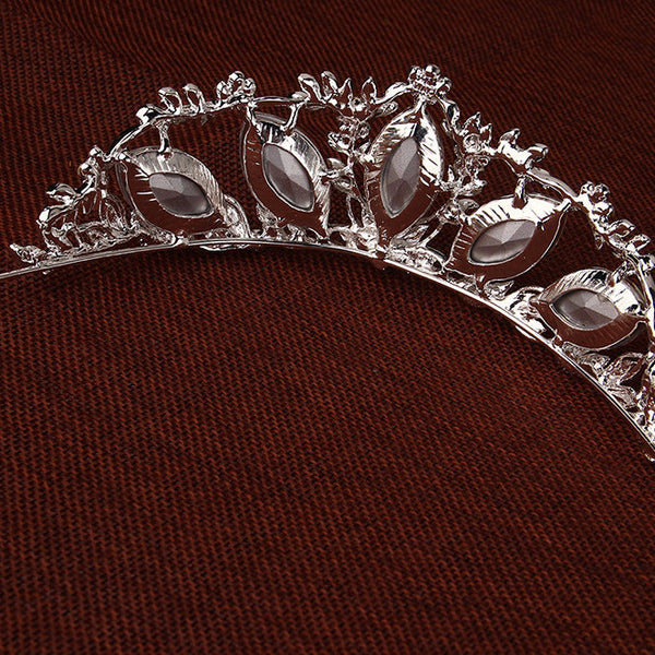 Big Crystal Wedding Tiara - 786shop4you