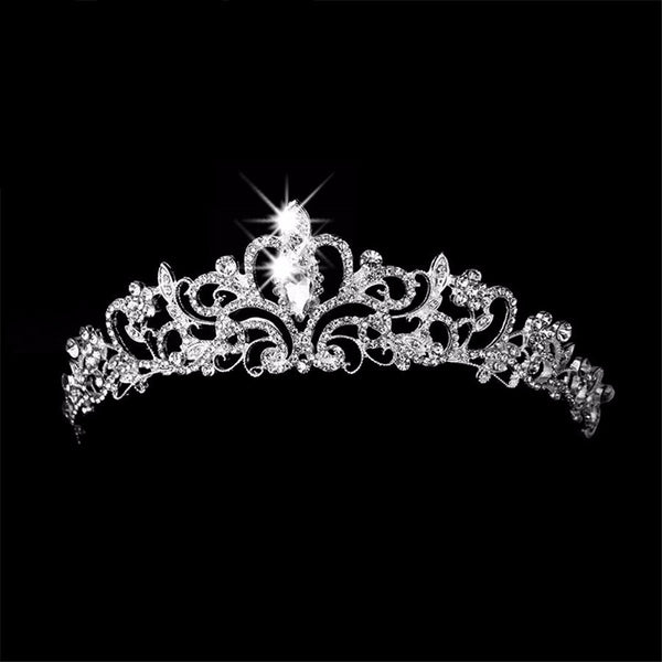 Queen Crystal Crown Tiara