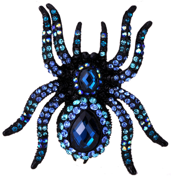 Crystal Spider Stretch Ring - 786shop4you