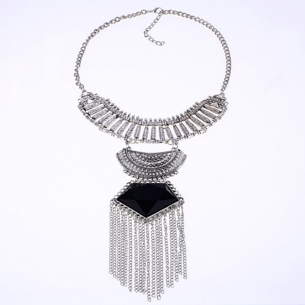 u Tangle Tassel B Necklace LB