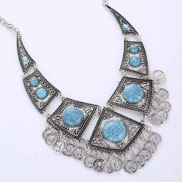 Turkish Turquoise Necklace DLT