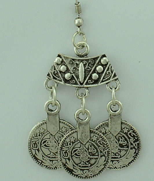 African Drop Earring
