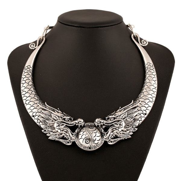 Dragon Flame Necklace - 786shop4you