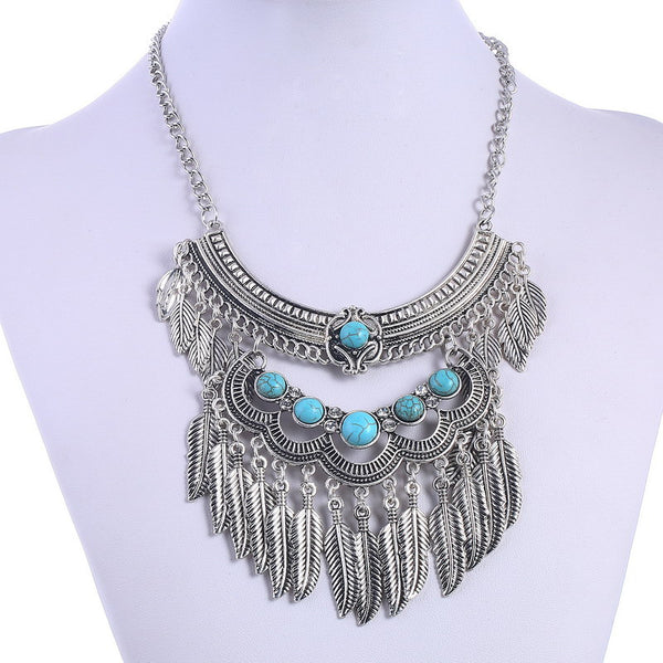 Loopaz Beads Tassel Necklace LB