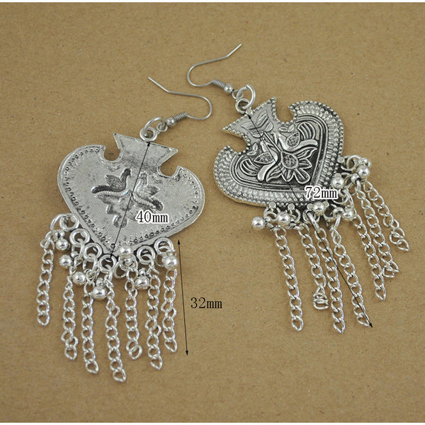 Bird Tassel Earring DLT - 786shop4you
