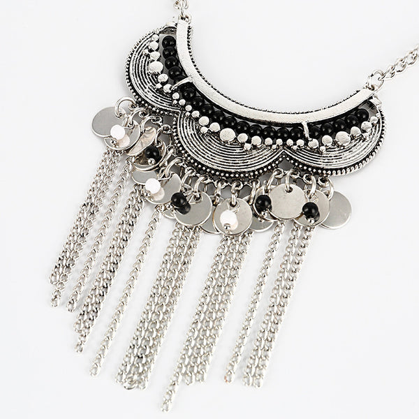 3U Zaz Tassel Chain Necklace - 786shop4you