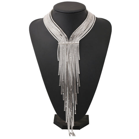 Weaver Tassel Long Necklace