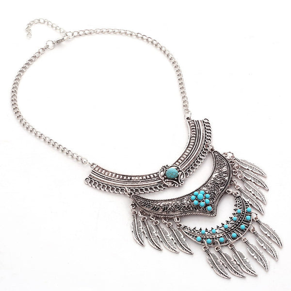 Vintage V3 Leaves Necklace LB