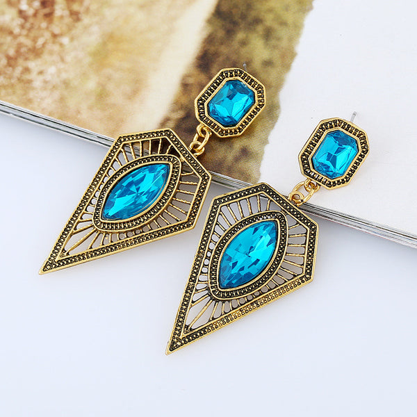 Crystal Drop Earring - 786shop4you