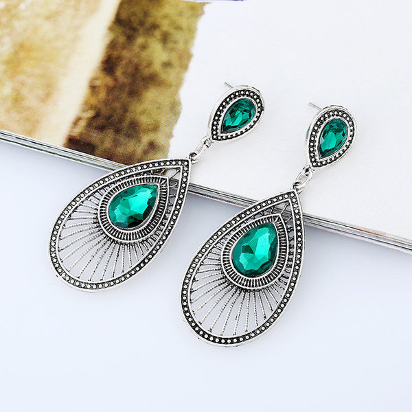 Gem Stozzel Drop Earring