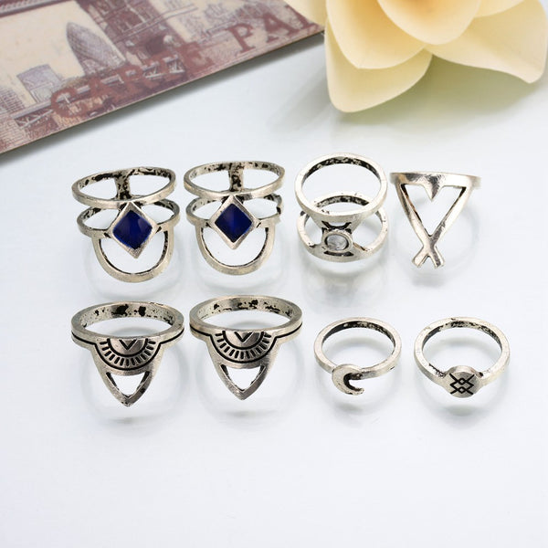 Star Wars 8pcs Adjustable Ring DLT