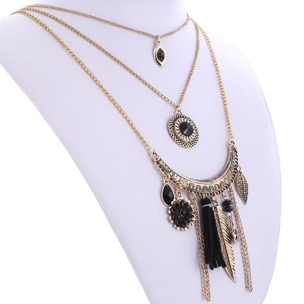 Vexxel Chain Tassel Necklace DLT