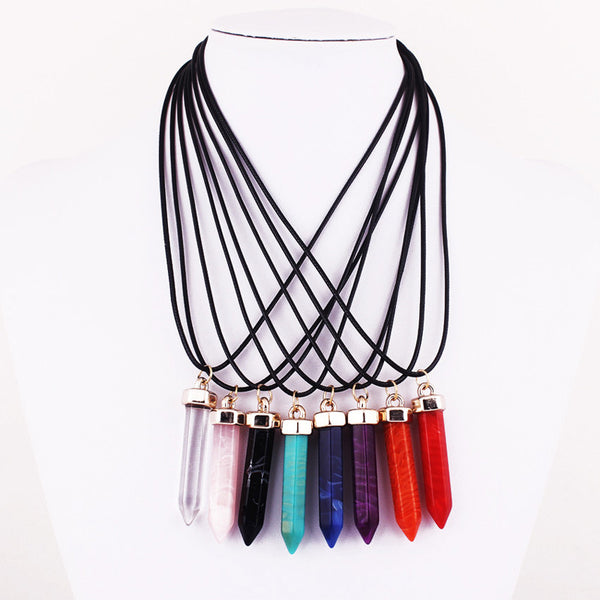 Bullet Pendant Necklace