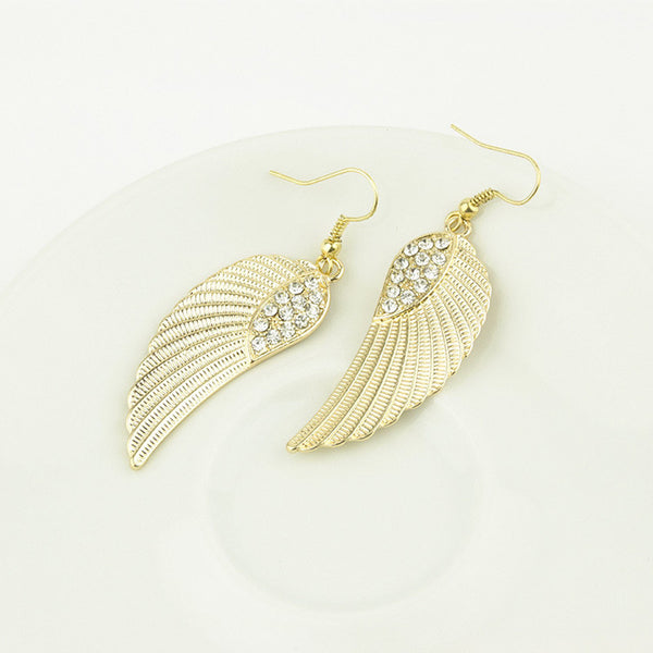Angel Crystal Earring - 786shop4you