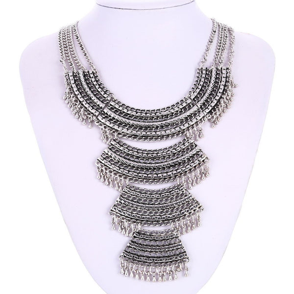 Multi Layer Gold Necklace - 786shop4you