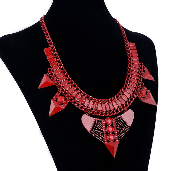 Wonderful Red Arrows Enamel Necklace DLT - 786shop4you