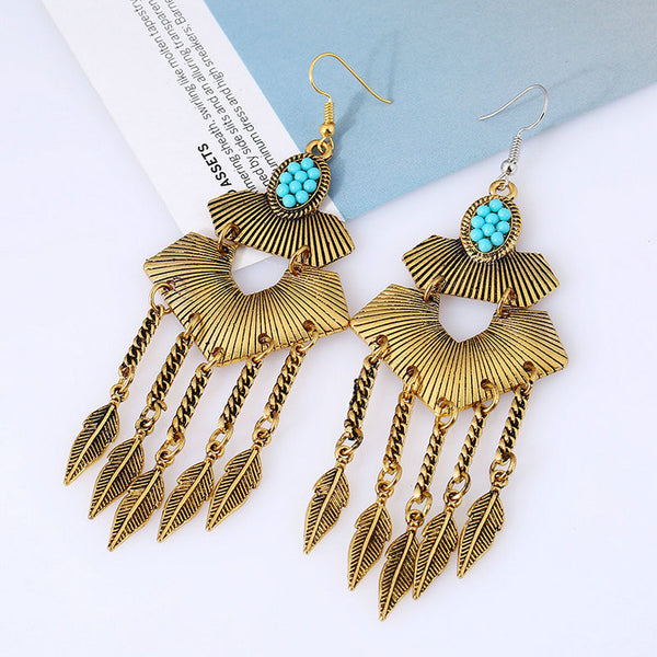 Zarr Tassel Long Earring LB