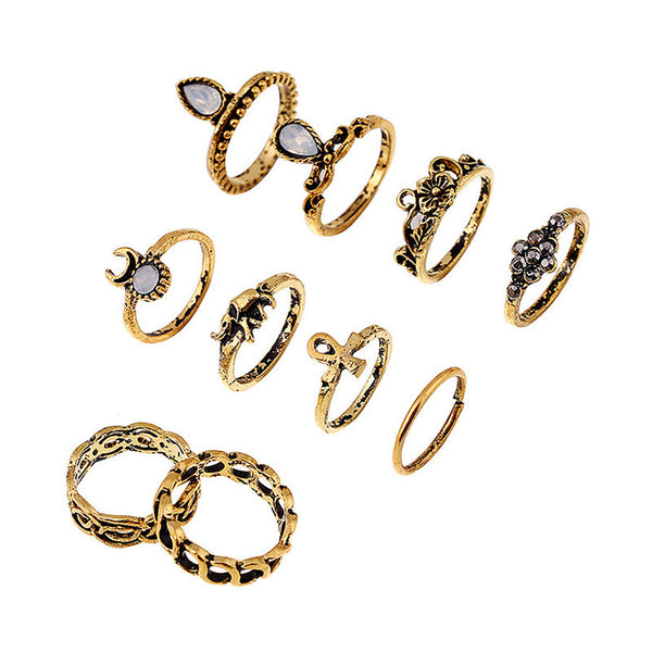 Malti sTyle DX 10pcs Ring Set LB