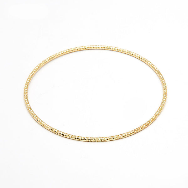Gold N Silver Plated Wiring Unadjustable Bracelet