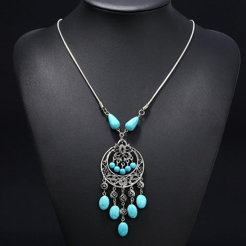 12 Beads Tassel Turkey Necklace DLT - 786shop4you