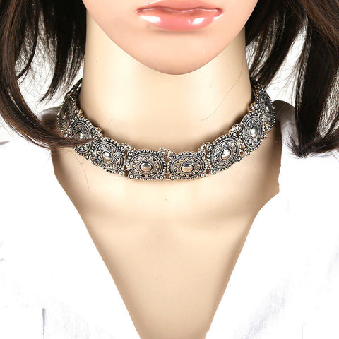 Antique s2 Bohemian Choker Necklace LB - 786shop4you