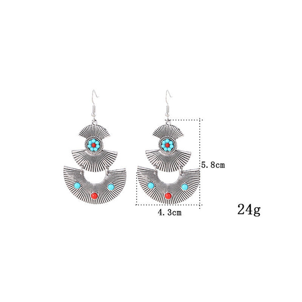 Vintage Crystal Drop Earring - 786shop4you