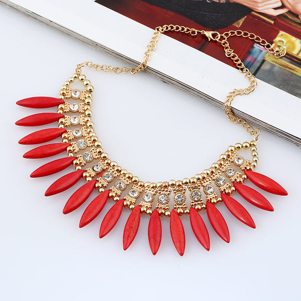 lovely Rhinestone Vintage necklace LB