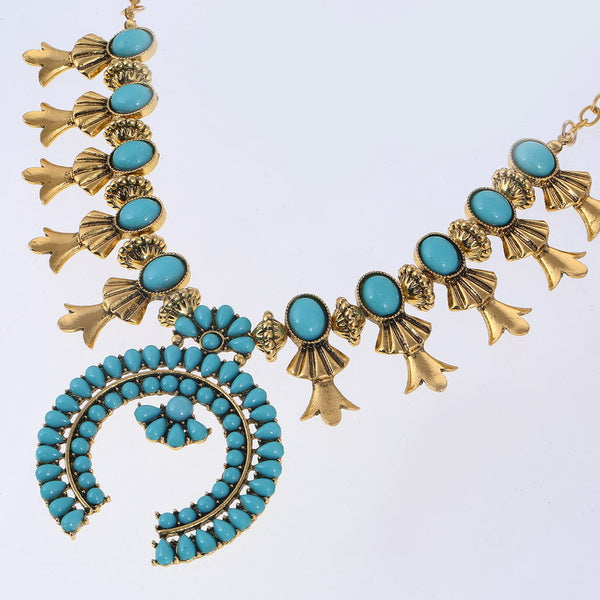 Turquoise Dazzling Necklace DLT