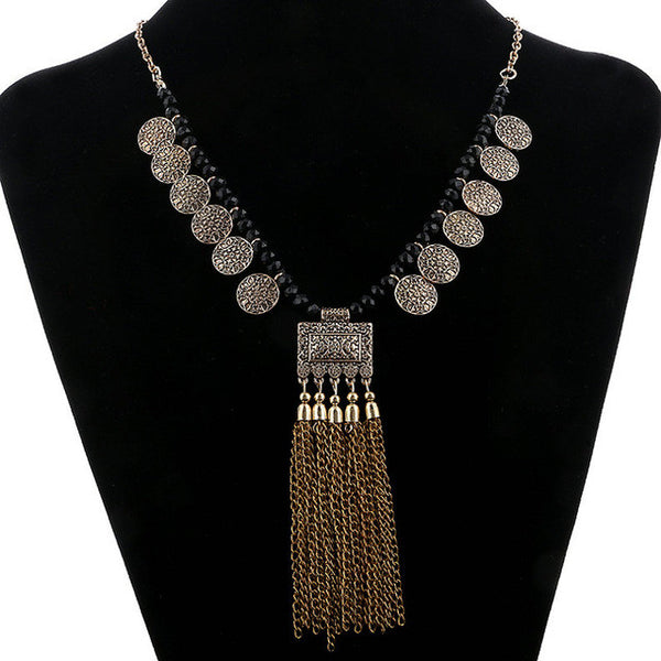 Long TV Tassel Necklace DLT