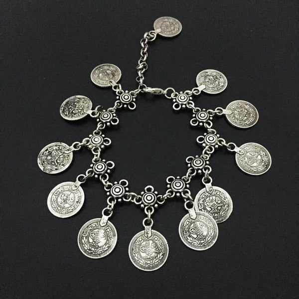Coin Charm Bracelet - 786shop4you