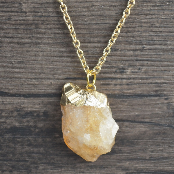 Zaz Natural Energy Stone Necklace DLT