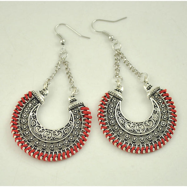 Vintage  Boho Long Drop Earring LB