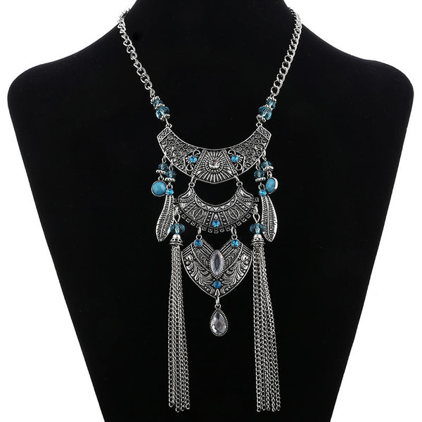 Jezza Tassel Necklace LB