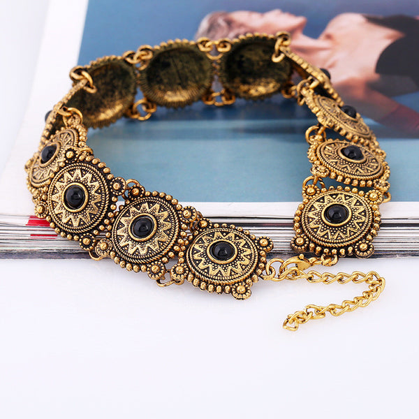Bohemian Vintage Boho Choker Necklace - 786shop4you