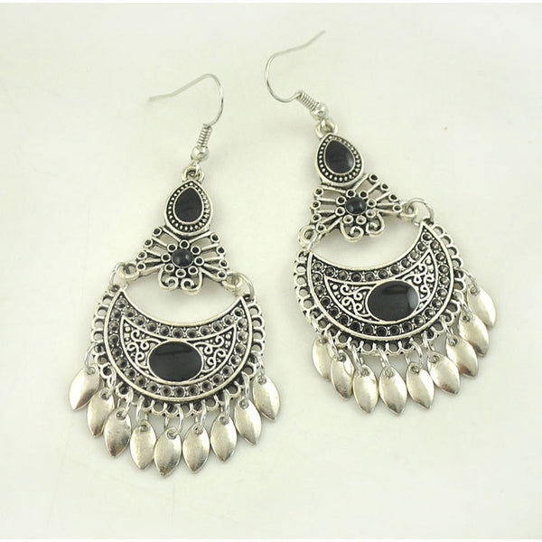 Enamel Drop Earring - 786shop4you