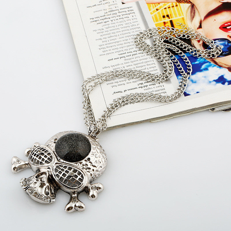 Pirate Skull Necklace - 786shop4you