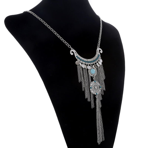 Classic Tassel Necklace SQ LB - 786shop4you