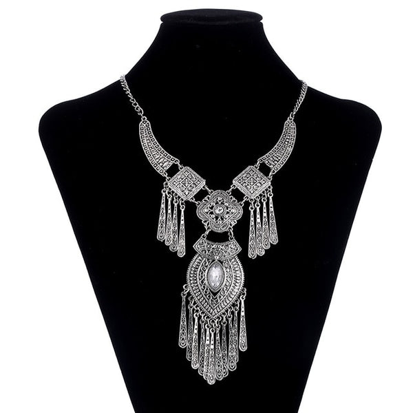 Tassel Statement Necklace - 786shop4you