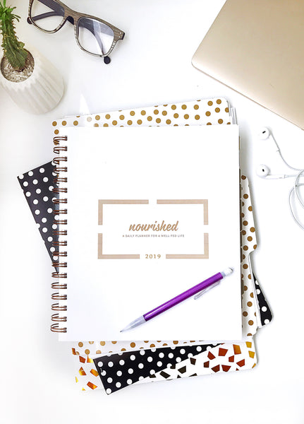 "2019 Nourished Planner - 6"" x 7"""