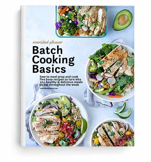 Batch Cooking Basics