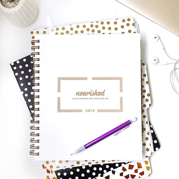 "2019 Nourished Planner - 8.5"" x 10"""