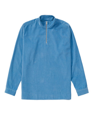 Cord Zip-Up - Dusty Blue