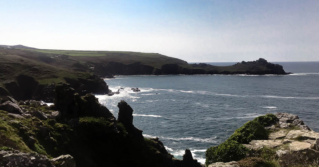 A Walk Around Zennor - Steep Cliffs, Dramatic Views, Blackberries & Cows!