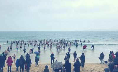 Christmas Swims In Cornwall – Crazy, Chilly Swims In The Sea!