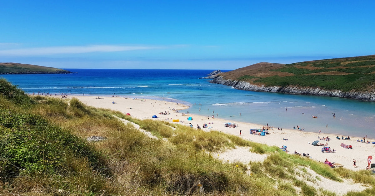 A Lovely Sunday On Crantock Beach