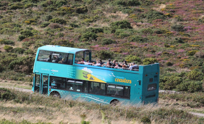 The Open Top Bus From St Ives To Land's End